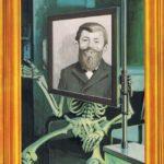 Alfred E.Röntgen (Backcover German MAD #259)