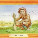 Alfred E.Sapiens (Backcover German MAD #289)