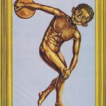 Atletikus Neumann (Backcover German MAD Extra #1)