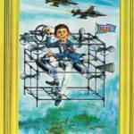 Dr Alphredus, der Flugpionier (Backcover German MAD Extra #5)