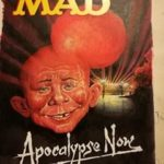 Cover artwork for British MAD #219 by Harry North