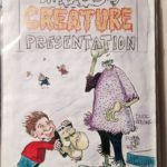 Original Artwork used for US paperback 'Mad's Creature Presentation'