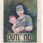 Original Artwork used for British MAD Magazine #239