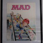 Original Artwork used for German MAD Magazine #136, 1st Edition
