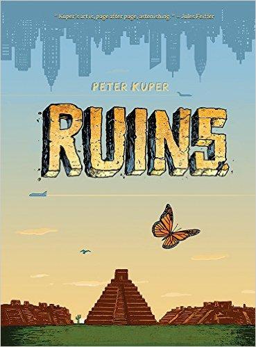 Peter Kuper's new book: Ruins