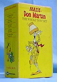MAD's Don Martin - The whole 'Don' set
