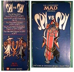 The certifiably MAD Prohias Spy vs. Spy Paperback Gift Set