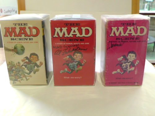 All versions of the MAD Scene Paperback Gift Sets