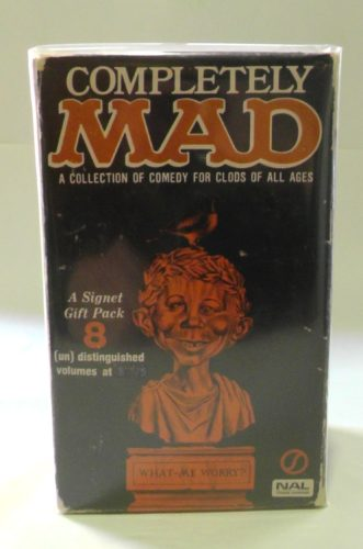 Completely MAD (Black Signet Version, front)