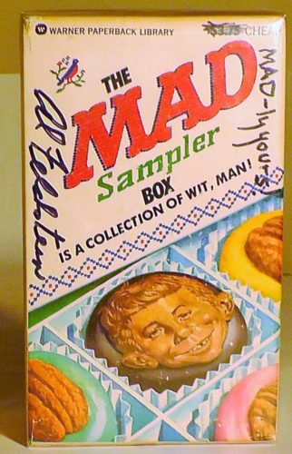 The MAD Sampler Box is a collection of wit, man! Paperback Gift set