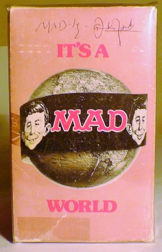 It's a MAD World Paperback Gift Set (Pink Background)