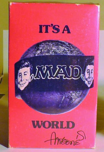 It's a MAD World Paperback Gift Set (Red Background)