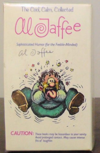 The Cool, Calm, Collected Al Jaffee Paperback Gift Set Front View