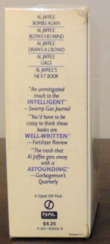 The Cool, Calm, Collected Al Jaffee Paperback Gift Set Side View