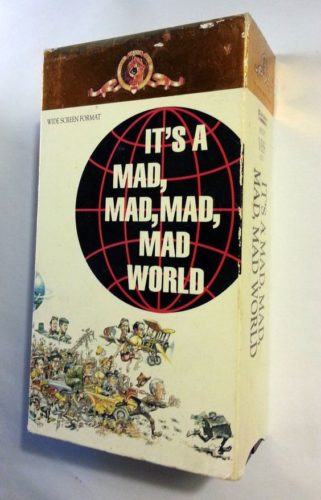 It's a MAD, MAD, MAD World - VHS Box