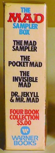 MAD Sampler Paperback Gift Set Side View