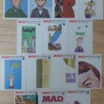 Fleer Goes MAD - Cards with no variations between 1st and 2nd printing
