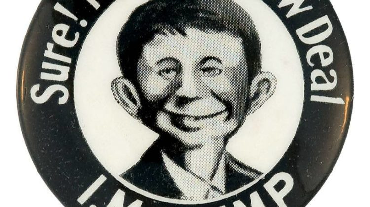 Presidential campaign pinback button, 1932