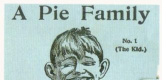 Atmore's Pie Family novelty card No.1 (The Kid.)