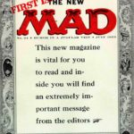MAD #24 cover art by Harvey Kurtzman