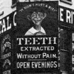 The Ritter Painless Dental Co., Flatbush and Third Avenue, Brooklyn, NY, 1910