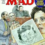 MAD #332 cover art by Drew Friedman