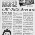 """Classy Crimes #138"" in MAD #24 by Ballantine Books editor Bernard Shir-Cliff"