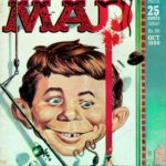 MAD #50 cover art by Kelly Freas