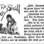 """""""The Small Boy"""" detail in PUCK Magazine, 1889"""