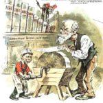 Detail in PUCK Magazine, 1888
