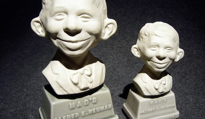 MAD's Alfred E. Neuman China Bisque busts