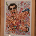 """""""Jackass"""" art by Tom Bunk, for the US-MAD."""