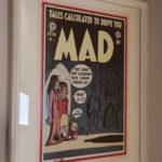 Signed print by Harvey Kurtzman of US-MAD #1.