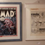 """MAD #5 Print, signed by Will Elder, and Original art for MAD #13, """"Robinson Crusoe!"""", by Will Elder (Owner of the artwork Ulrich Schröder)"""