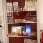 A showcase of German MAD items, like the Spy vs Spy game, art by Dieter Stein or the Autobiographie by Herbert Feuerstein.