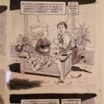 George Woodbridge original artwork for US-MAD.