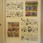 Original art and Sketches by Martin Frei, for German MAD (2.Edition)