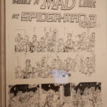 "Original art of ""A MAD Look at Spiderman 3"", for US-MAD #480, by Sergio Aragones!"