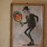"Karl Valentin artwork, by Ivicia Astalos, as ""Hans Tischler""."