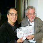 Peter Kuper and Denis Kitchen, from their Exhibition in Amerika-Haus, Munich.