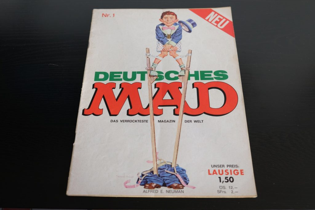 German MAD Magazine Number 1 (First Edition)