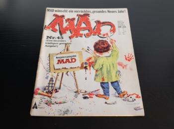 German MAD Magazine #45 (1st Edition)