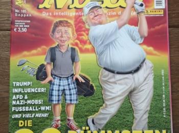 German MAD Magazine #185 (Last Issue!)