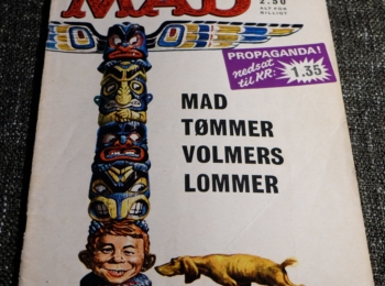 Denmark MAD Magazine Number 3 from 1965 – First Edition