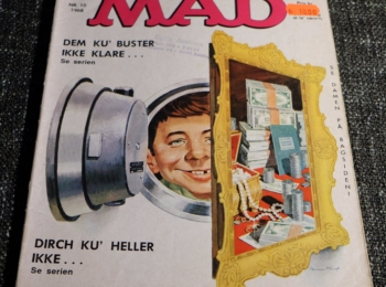 Denmark MAD Magazine Number 10 from 1968
