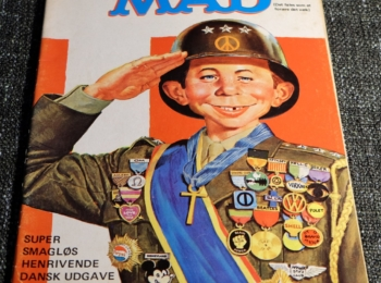 Denmark MAD Magazine Number 4 from 1971