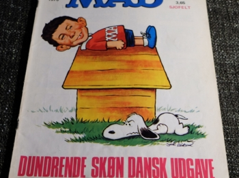 Denmark MAD Magazine Number 11 from 1970
