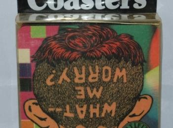 2 Sets of MAD Magazine Coasters