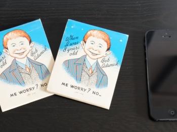 1x 1950's matchbooks (Bob Adamcik 's Restaurant)