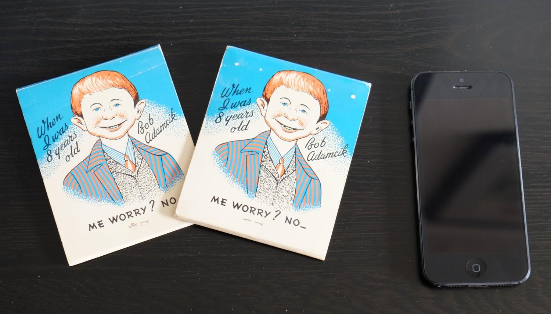 2x 1950's matchbooks (Bob Adamcik 's Restaurant)